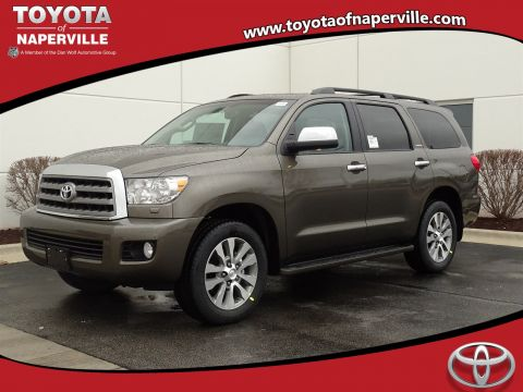 New 2017 Toyota Sequoia Limited With Navigation