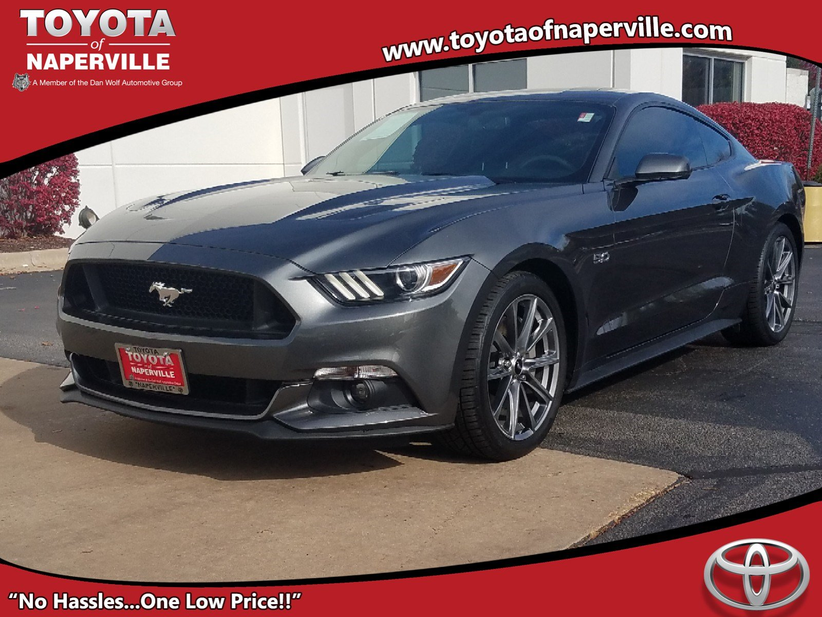 Pre Owned 2016 Ford Mustang GT 2D Coupe in Naperville