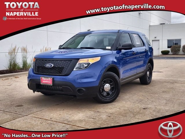 Pre-Owned 2014 Ford Utility Police Interceptor Base