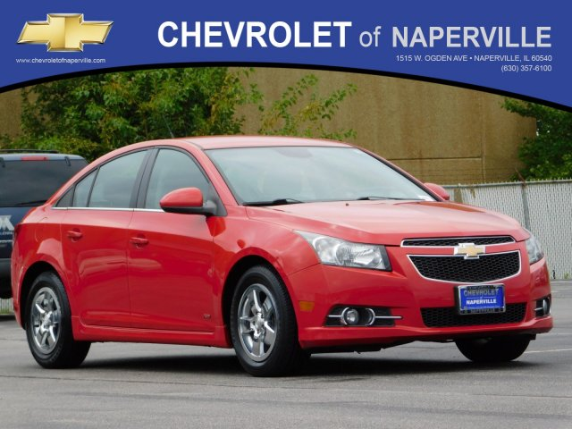 Pre-Owned 2012 Chevrolet Cruze LT with 1LT