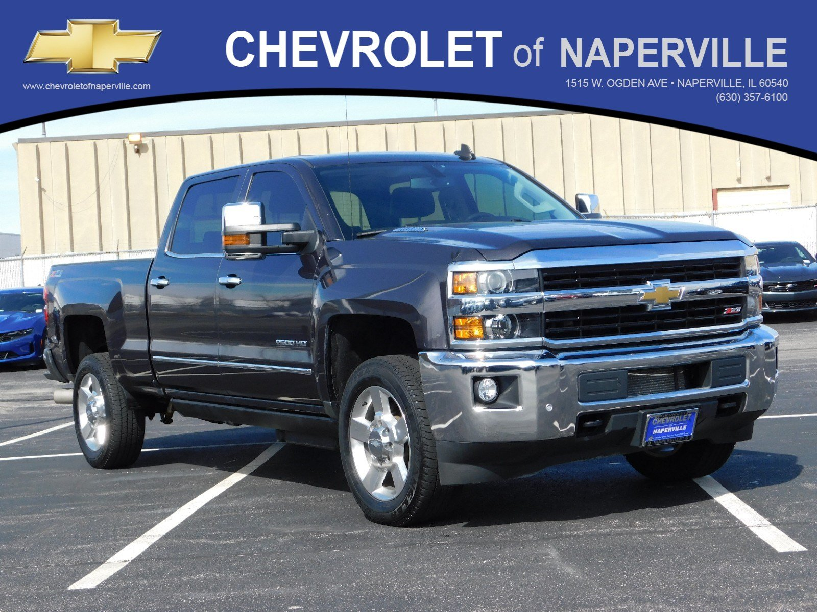 Pre Owned 2016 Chevrolet Silverado 2500hd Ltz Crew Cab Pickup In