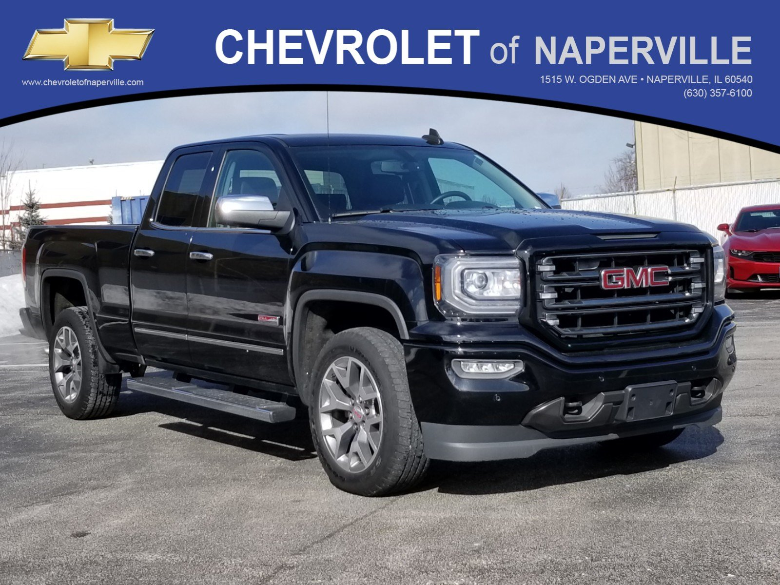 Pre Owned 2016 Gmc Sierra 1500 Slt Extended Cab Pickup In Naperville P8050 Toyota Of