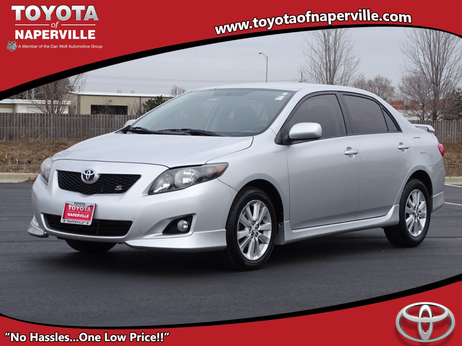 Pre Owned 2010 Toyota Corolla S 4d Sedan In Naperville T28864a