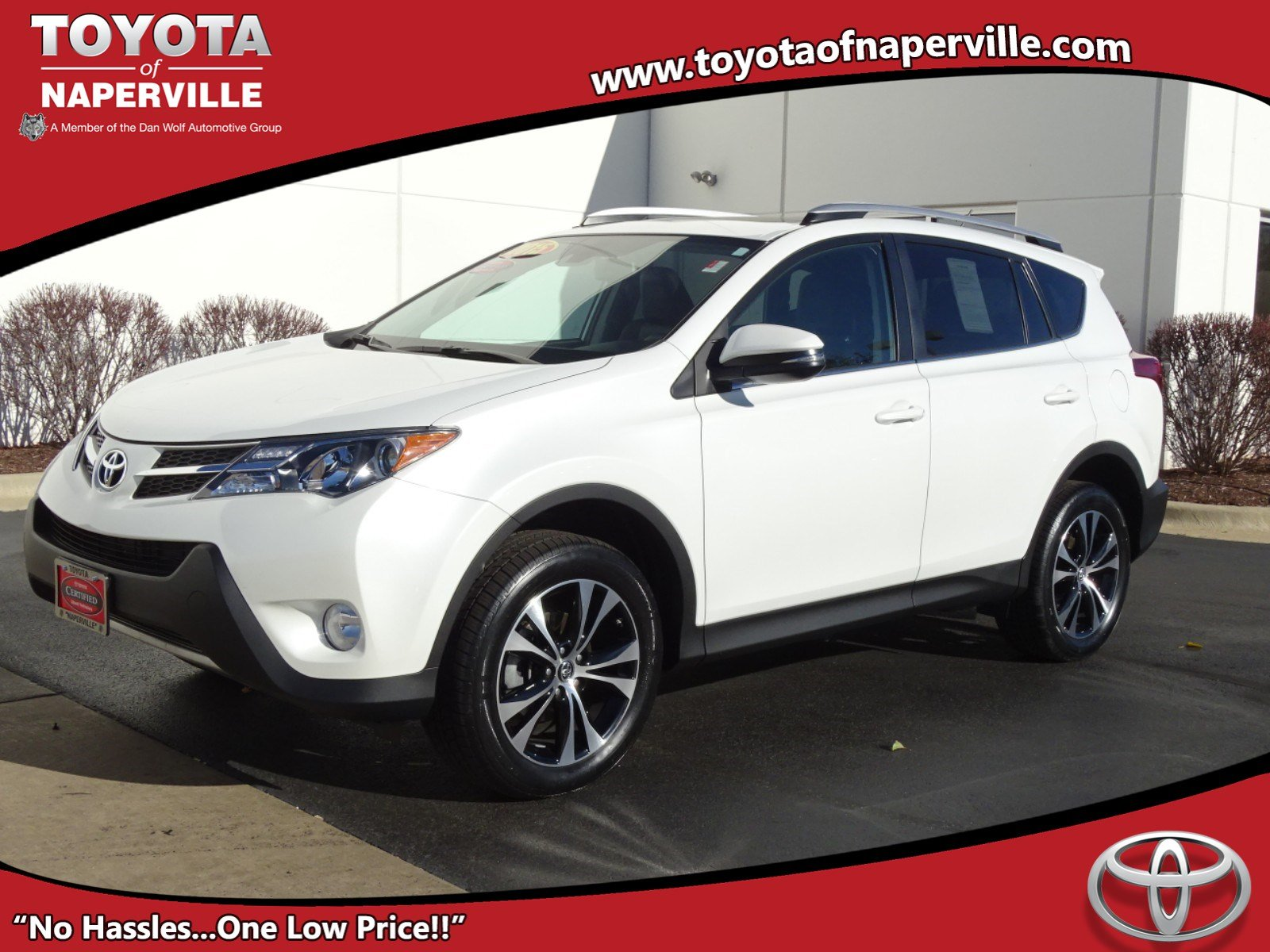 certified pre-owned 2015 toyota rav4 ltd 4d sport utility in