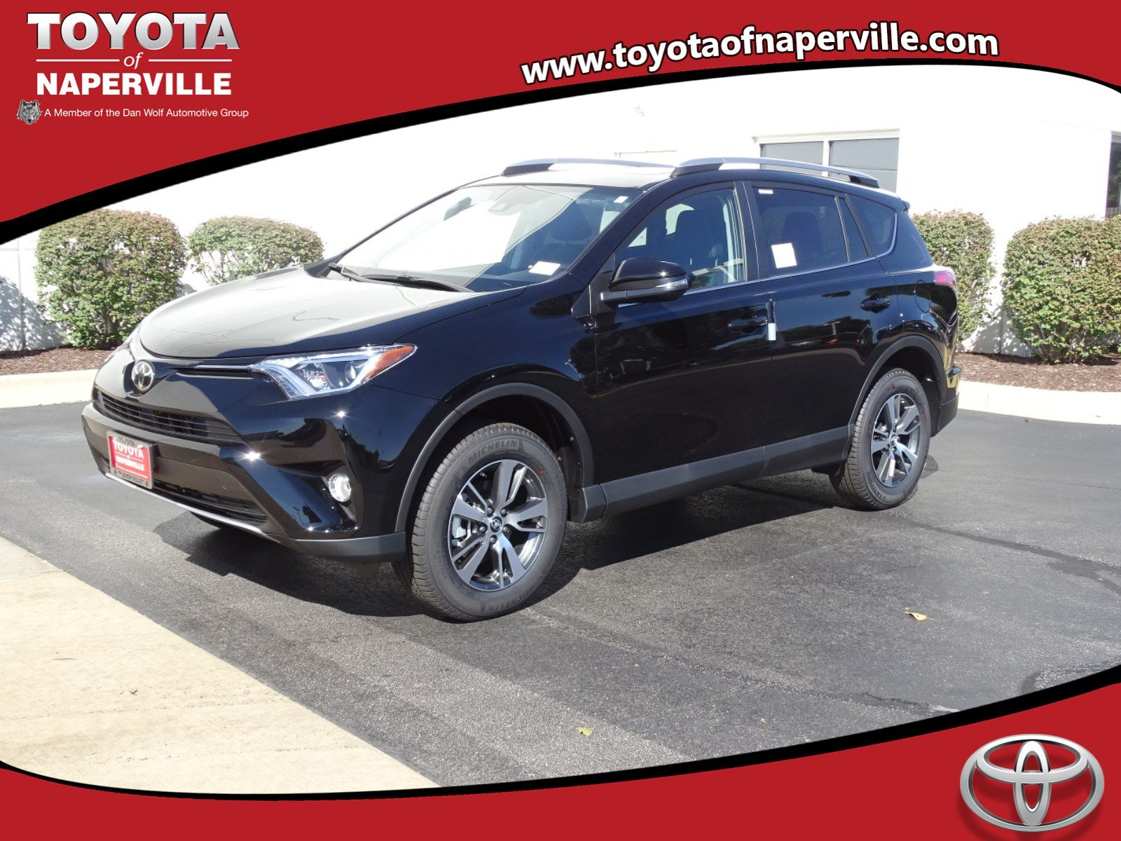 New 2018 Toyota Rav4 Xle 4d Sport Utility In Naperville T28388 Low Tire Pressure Warning Light