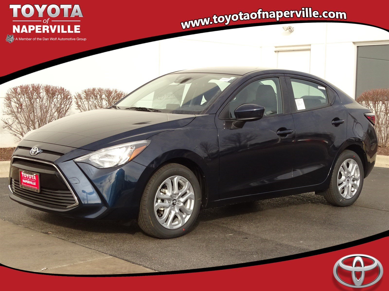 new 2017 toyota yaris ia 4d sedan in naperville c29916 toyota of naperville. Black Bedroom Furniture Sets. Home Design Ideas