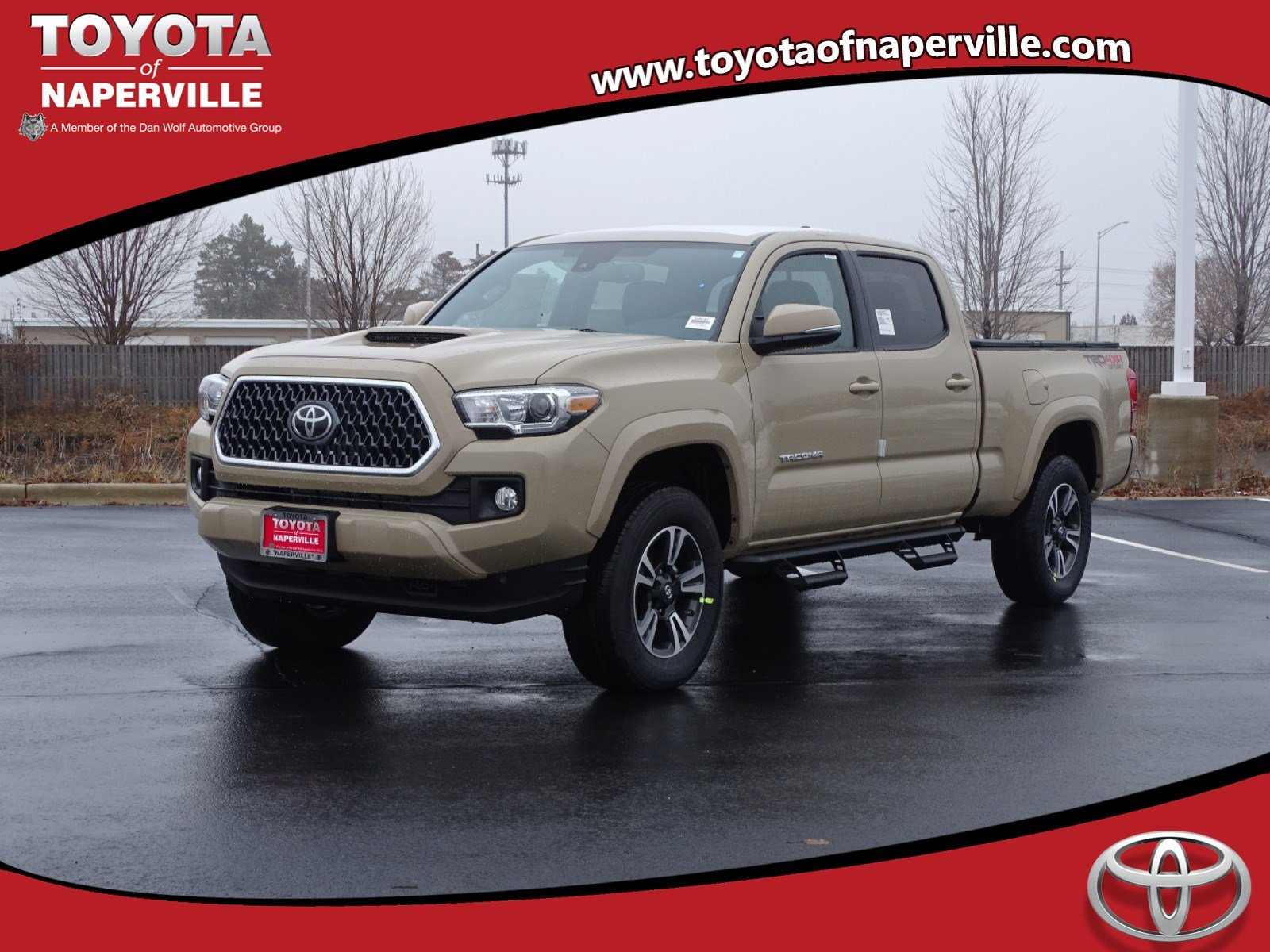 New 2019 Toyota Tacoma Trd Sport 4d Double Cab In Naperville T28757