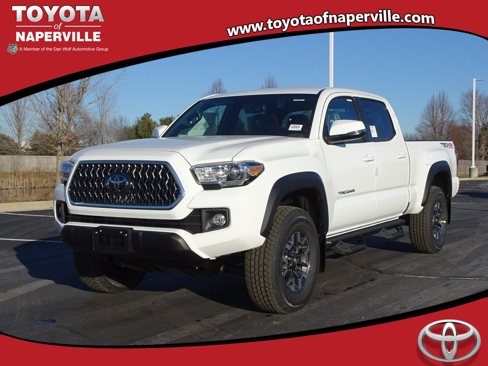 New 2019 Toyota Tacoma Trd Offroad 4d Double Cab In Naperville