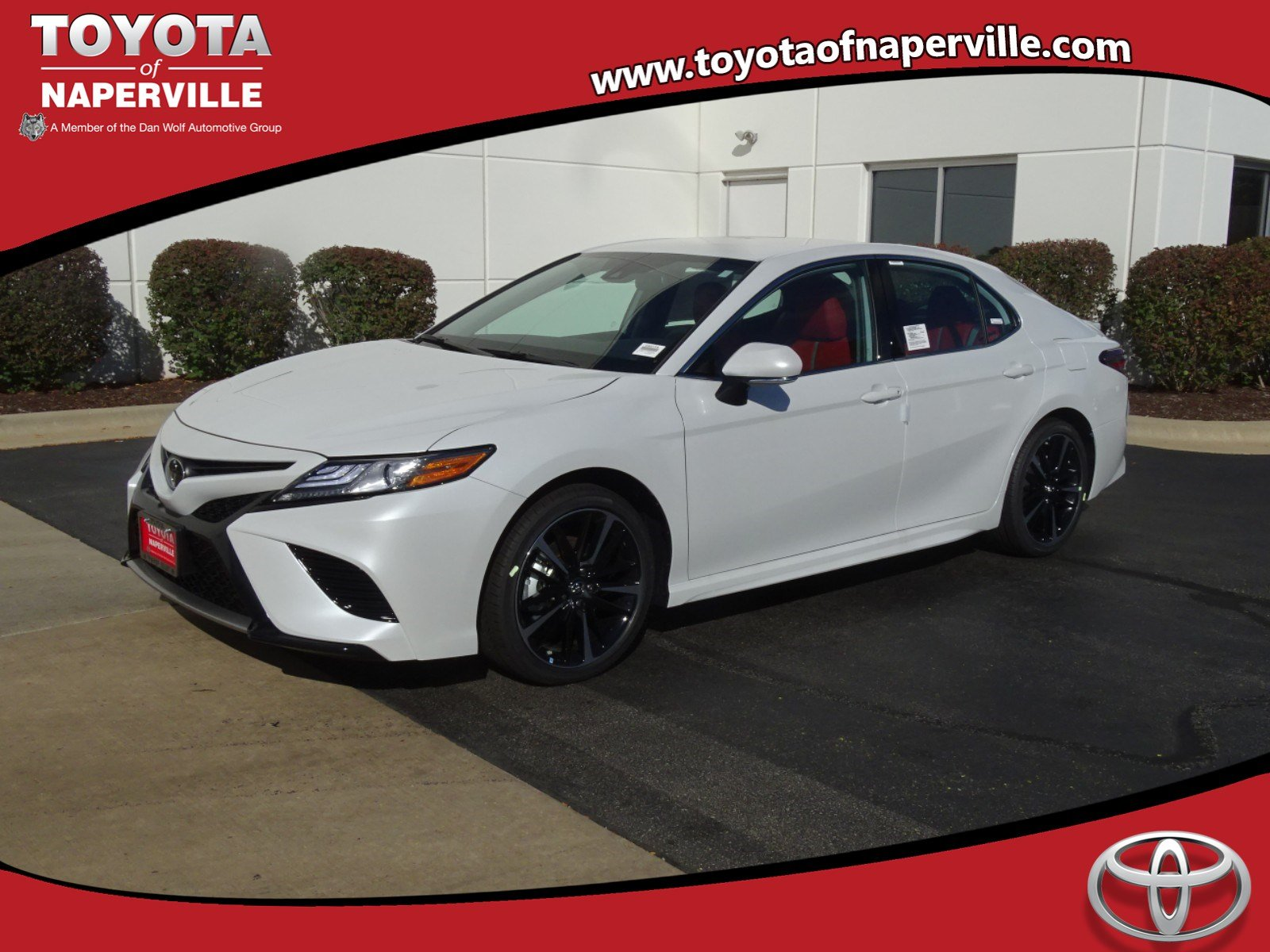 New 2019 Toyota Camry Xse 4d Sedan In Naperville C32173 Toyota Of