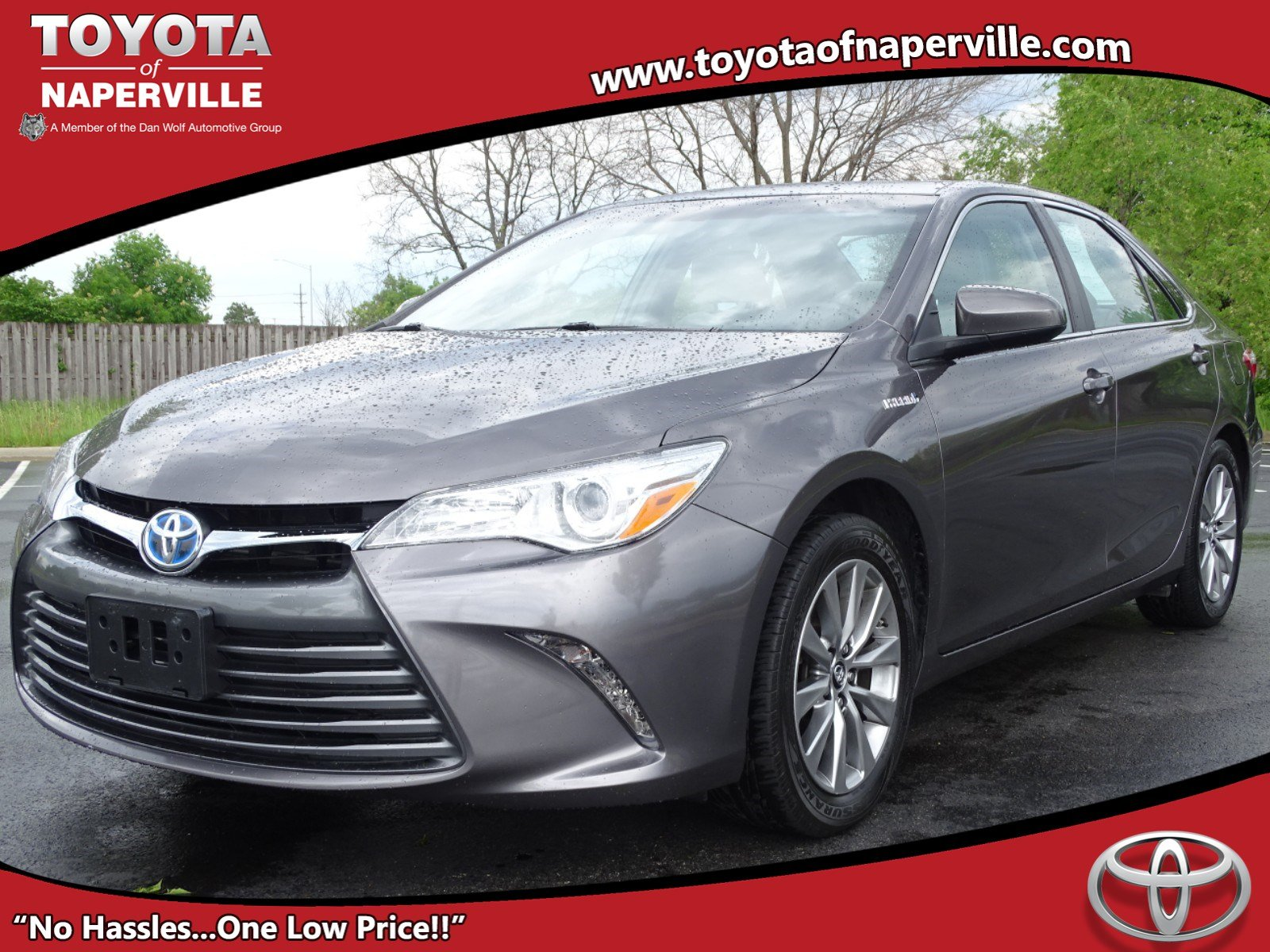 Certified Pre Owned 2016 Toyota Camry Hybrid Xle