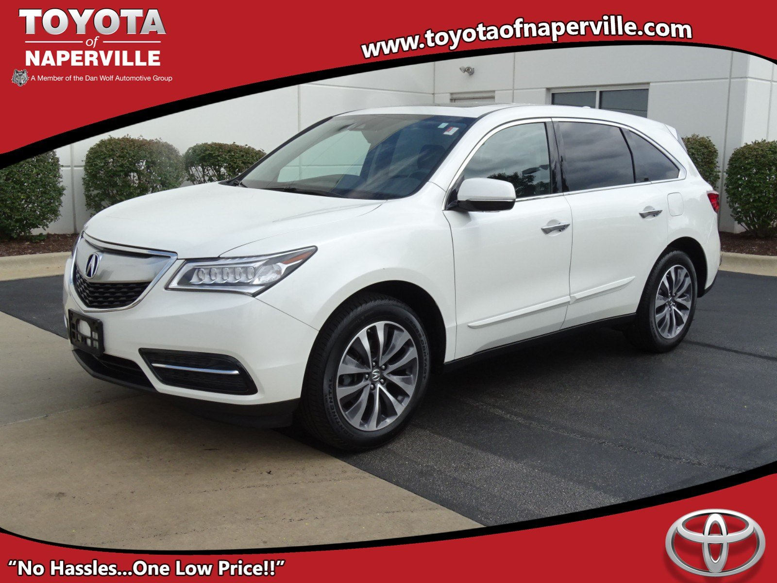 Pre Owned 2016 Acura MDX w Tech 4D Sport Utility in Naperville
