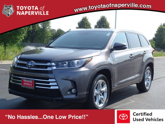 Certified Pre-Owned 2019 Toyota Highlander Hybrid Hybrid Limited