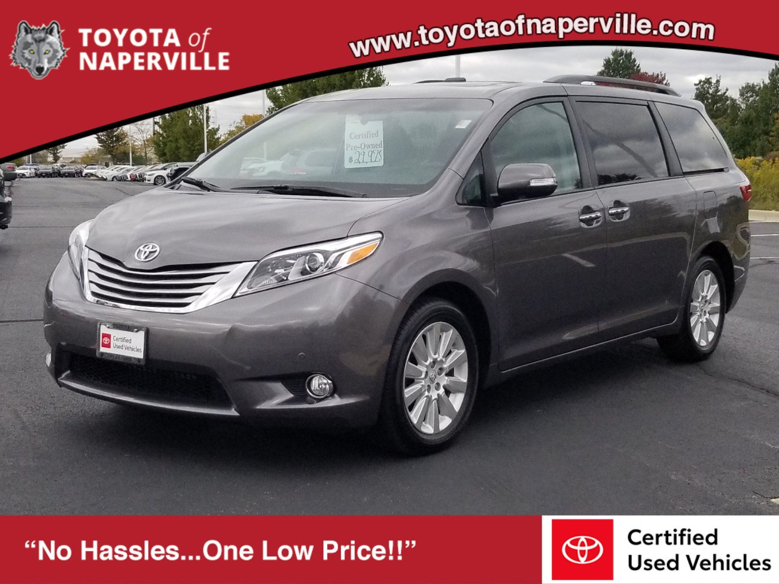 Certified Pre-Owned 2015 Toyota Sienna Ltd Premium