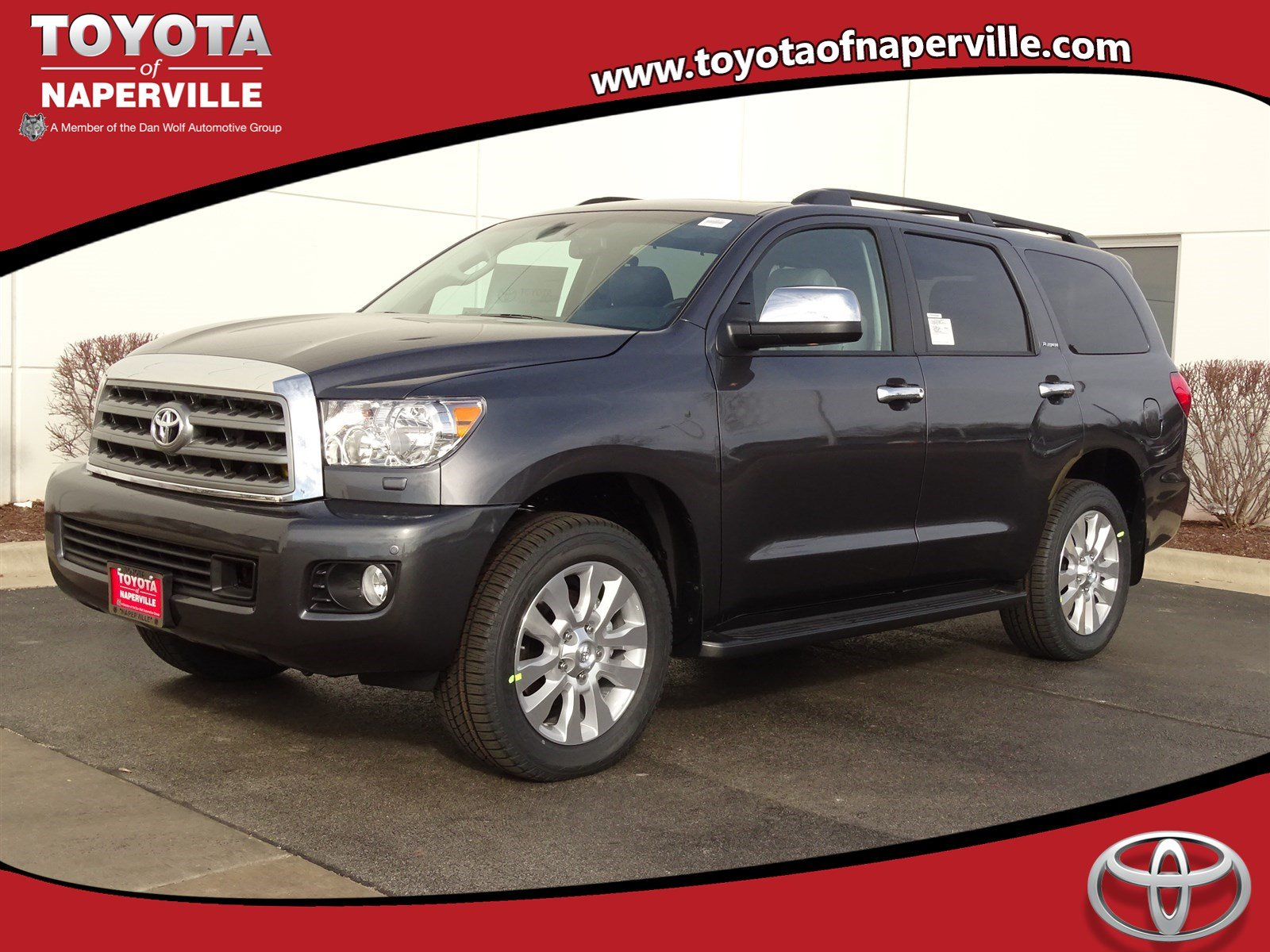 new 2017 toyota sequoia platinum 4d sport utility in naperville t24870 toyota of naperville. Black Bedroom Furniture Sets. Home Design Ideas