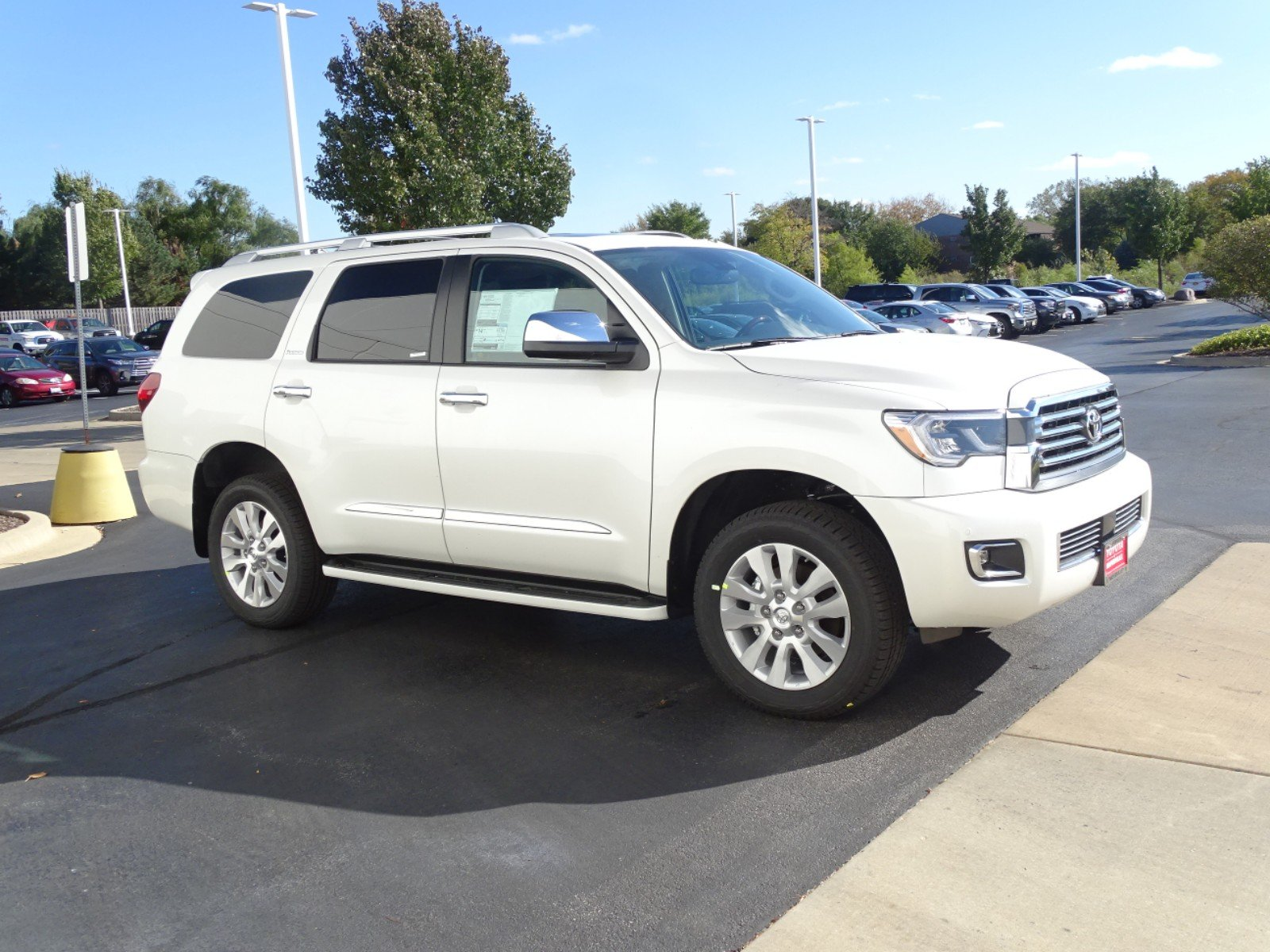 New 2019 Toyota Sequoia Platinum 4d Sport Utility In Naperville Fuel Filter Location