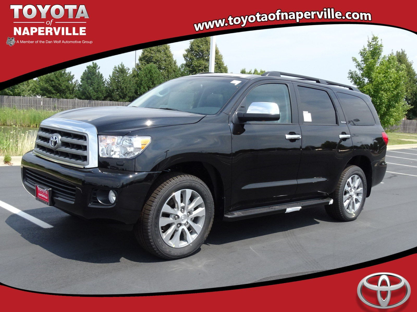 new 2017 toyota sequoia limited 4d sport utility in naperville t25964 toyota of naperville. Black Bedroom Furniture Sets. Home Design Ideas