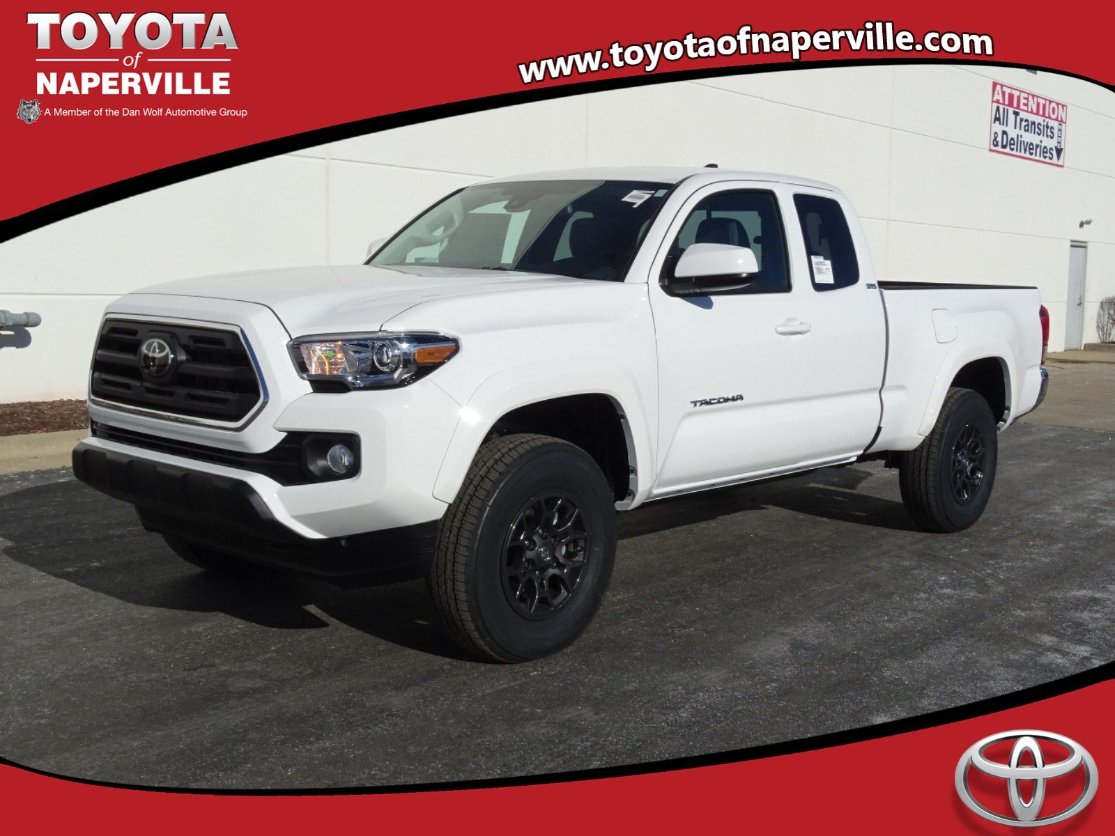 new 2018 toyota tacoma sr5 4d access cab in naperville t26904 toyota of naperville. Black Bedroom Furniture Sets. Home Design Ideas