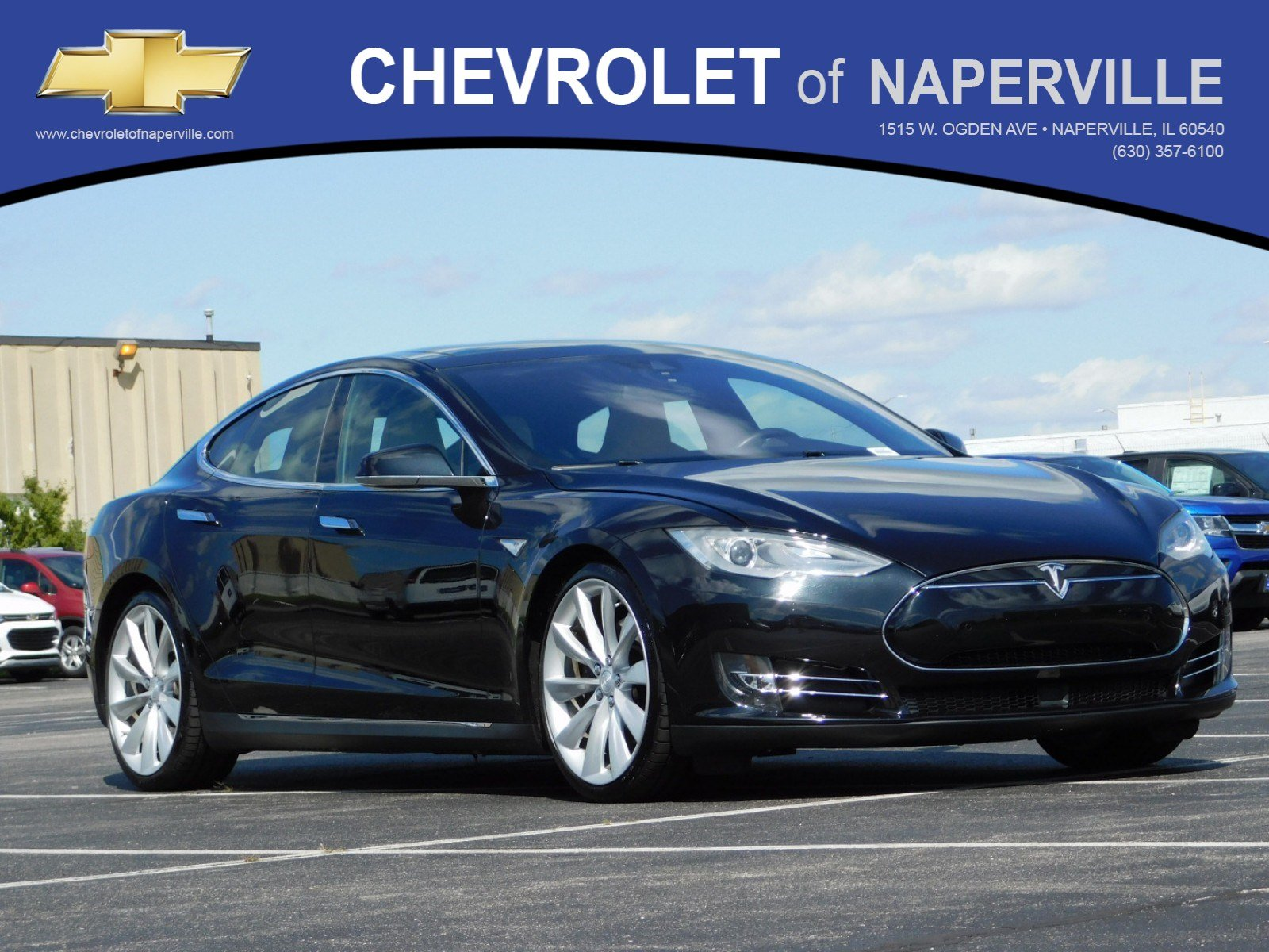 Pre-Owned 2015 Tesla Model S 70D