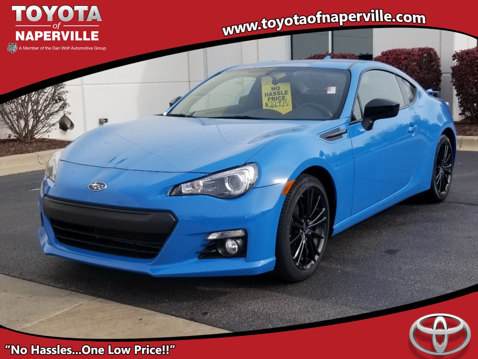 Pre-Owned 2016 Subaru BRZ Series.HyperBlue