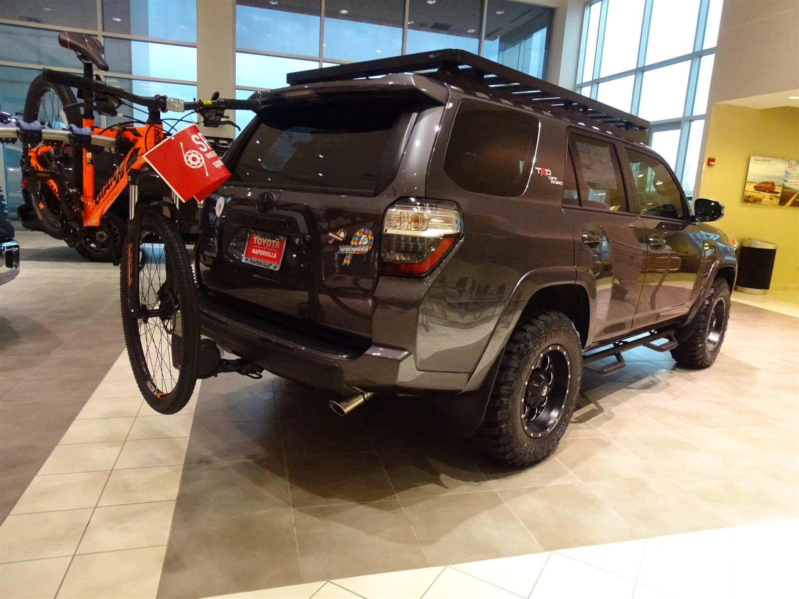 new 2017 toyota 4runner trd off road premium 4d sport utility in naperville t25058 toyota of. Black Bedroom Furniture Sets. Home Design Ideas
