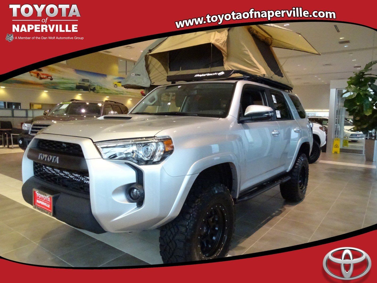 new 2018 toyota 4runner trd off road premium 4d sport utility in naperville t27085 toyota of. Black Bedroom Furniture Sets. Home Design Ideas
