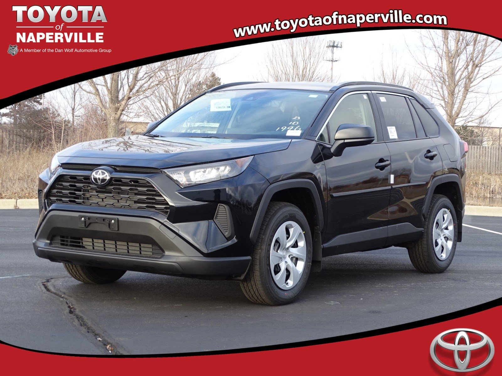 New 2019 Toyota Rav4 Le 4d Sport Utility In Naperville T28984