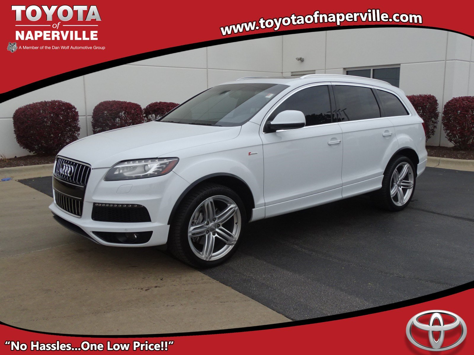 Pre Owned 2012 Audi Q7 3 0T S line Prestige 4D Sport Utility in
