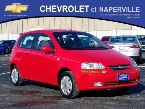 Pre Owned 2005 Chevrolet Aveo Lt 4dr Car In Naperville T9443a